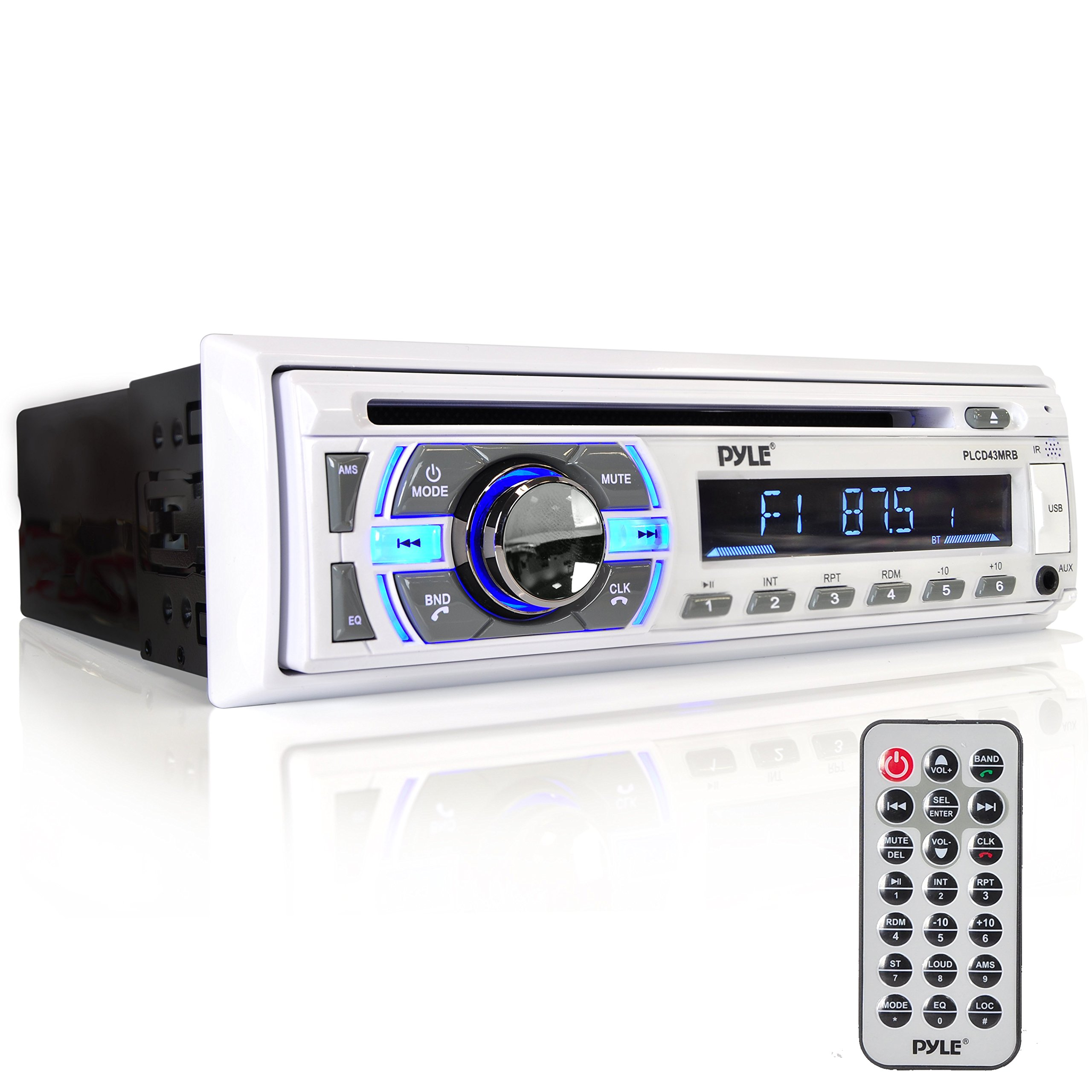 Pyle Bluetooth Streaming Hands Free PLCD43MRB