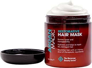 ARGAN MAGIC Restorative Hair Mask - Protein Rich Conditioning Hair Mask That Hydrates, Restores And Repairs Damaged Hair (...