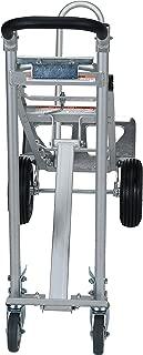 Vestil CAHT-500 Aluminum Convertible Hand Truck with Dual Handles, 500 lb. Load Capacity, 54