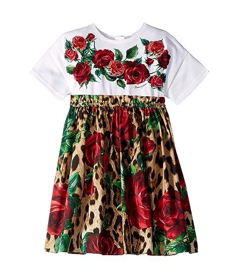 Dolce & Gabbana Kids D&G Roses Dress (Little Kids)