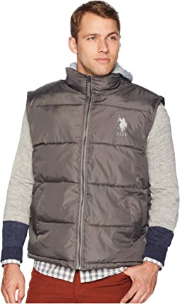 Hooded Basic Vest