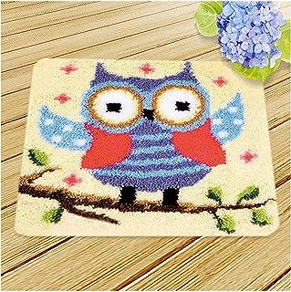 DIY Crochet Tapis Crochet Crochet Crochet Tapis pour Adultes et Enfants, Chambre à Coucher Petite Tapis, Tapis Faire du ki...