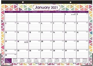 "2020-2021 Desk Calendar - Large Desk/Wall Calendar 2020-2021, 22"" x 16.8"", Jan 2020 - June 2021, 18 Months Planning, Large..."