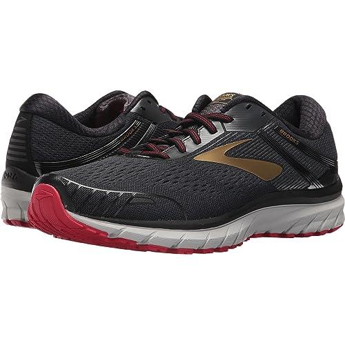 164b9f72545e4 Red Black Gold Shoes: Amazon.com