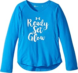 Under Armour Kids - Ready Set Glow Long Sleeve (Little Kids)