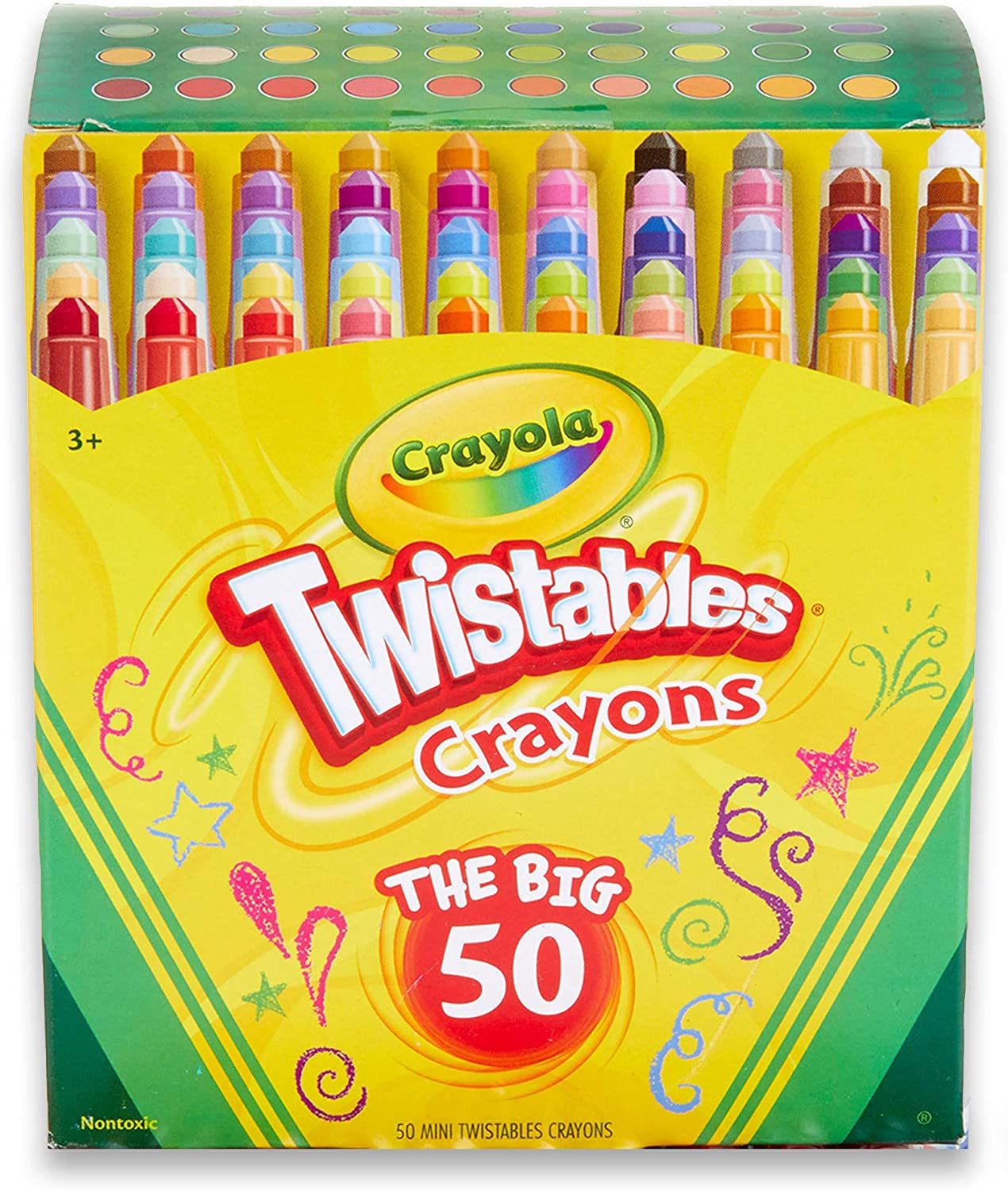 Crayola Twistables Crayons Coloring Set Max 80% OFF Craft Kids online shopping Gi Supplies