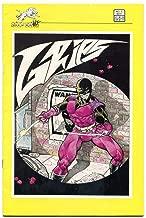 Grips #3 1986- Tim Vigil art- Silverwofl comicvs NM-