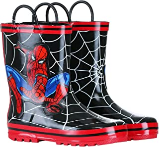 Favorite Characters Boy's Spiderman Rain Boots F20 SPF504 (Toddler/Little Kid)