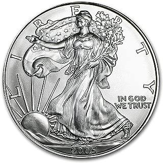 2005 1 oz silver american eagle bu