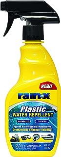 rain repellent for plastic windshields