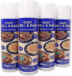 Easy Barbacoa & Bake 4x 500ml (7334) Central–hornea Carreras de spray hornea Carreras antiadherente Horno para horno de repuesto Gofrera Sartenes Formas parrilla Panificadora–Abacus