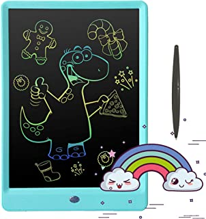 Pilipada LCD Writing Tablet Colorful Doodle Pad, 10 Inches Drawing Board Writing Board, Kids Early Educational Drawing Tablet Learing Toys for 2 3 4 5 6 Years Old Boys and Girls Gifts