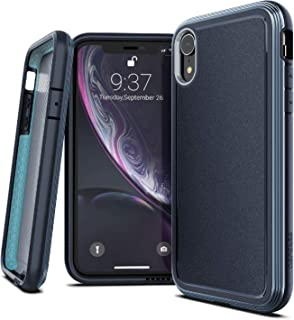 X-Doria Defense Ultra Series, iPhone XR Case - Heavy Duty Protective Case with Anodized Aluminum Frame, Military Grade Drop Tested Case for Apple iPhone XR, 6.1
