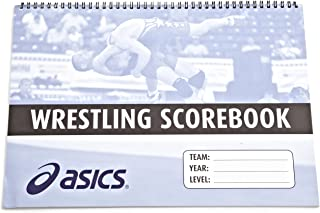 asics wrestling scorebook