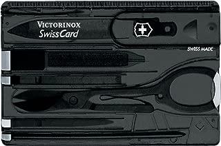 Victorinox Swiss Card Black Swiss Army Knife (0.7133.T3)