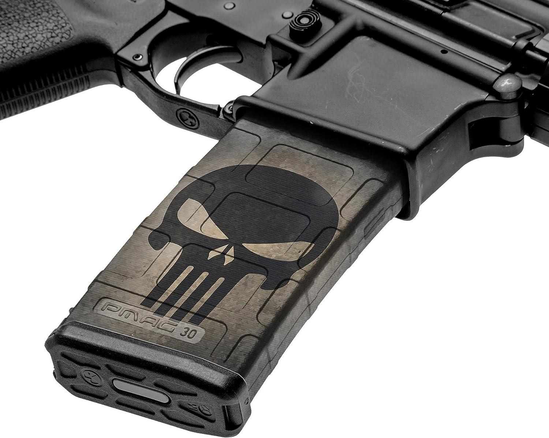 GunSkins AR-15 Max 87% OFF Mag Skins - 3 Free shipping Wraps Vinyl Pack Premium Ea