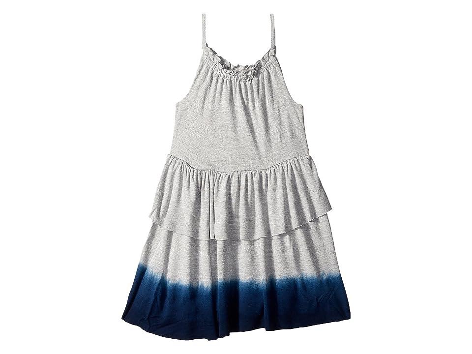 Splendid Littles Dip-Dye Dress (Toddler) (Grey Heather) Girl