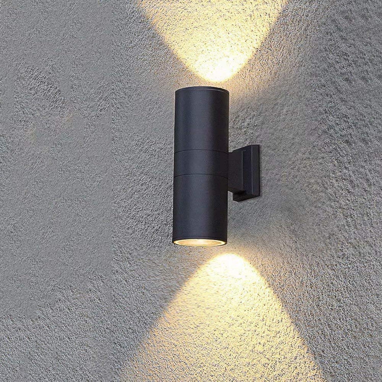 Auenleuchte LED-Auenwandleuchte Up Down Wandleuchte Innenwandfluter Downlighter für Flur Wohnzimmer Schlafzimmer
