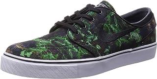 Nike Zoom Stefan Janoski Canvas Premium Skate Shoe - Mens Gorge Green/Black-White, 11.0