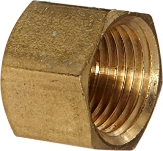Anderson Metals 56108 Brass Pipe Fitting, Cap, 3/8