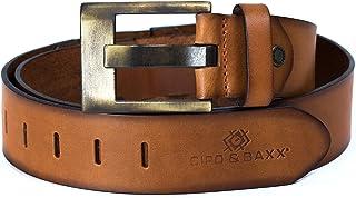 Gürtel Cipo /& Baxx Leder Herren Damen Herrengürtel Damengürtel Ledergürtel