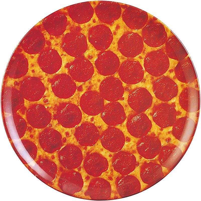 Pizza Plate For Medium Pizza 14 D 100 Melamine Dishwasher Safe