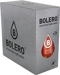 comprar comparacion Bolero Bebida Instantánea sin Azúcar, Sabor Melocotón - Paquete de 24 x 9 gr - Total: 216 gr