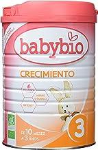 Leche Ecológica de crecimiento (10 meses a 3 años ), BABYBIO (900gr)