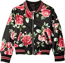 Elizabeth Sateen Bomber Jacket (Little Kids/Big Kids)