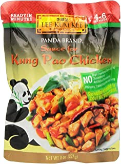 Lee Kum Kee Sauce for Kung Pao Chicken, 8-Ounce Pouches (Pack of 4)
