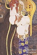 Gustav Klimt Cuaderno: Friso de Beethoven | Ideal para la Escuela, el Estudio, Recetas o Contraseñas | Perfecto Para Tomar Notas | Diario Elegante