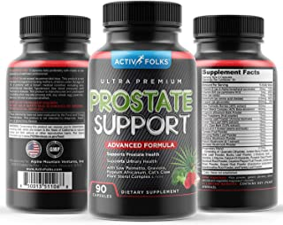 Prostate Supplements for Men, Saw Palmetto, Beta Sitosterol, & Pygeum, for Prostate Health, Frequent Urination & Hair Loss...