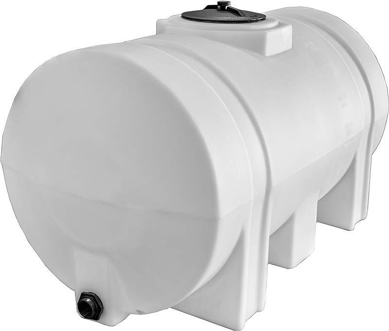 RomoTech Horizontal With Legs Polyethylene Reservoir 125 Gallon
