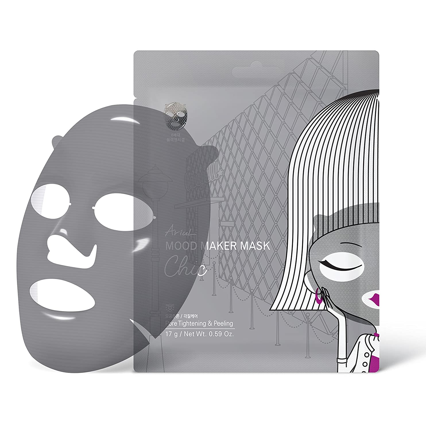 近代化する標準第二にアリウル ムードメーカーマスク シック 1枚入り
