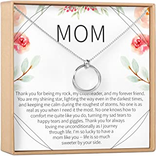 Mom Necklace - Mother's Day Gift, Mother-Daughter...
