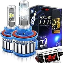 Win Power H13 LED Headlight Bulbs 9008 CREE 70W 7200LM 6000K Cool White Dual High Low Beam Conversion Kit-2 Yr Warranty