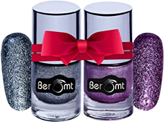 Beromt Sand Nail Polish Combo set of 2