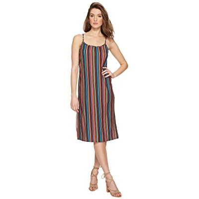Show Me Your Mumu Shiloh Tassel Slip Dress (Siesta Siesta Stripe) Women
