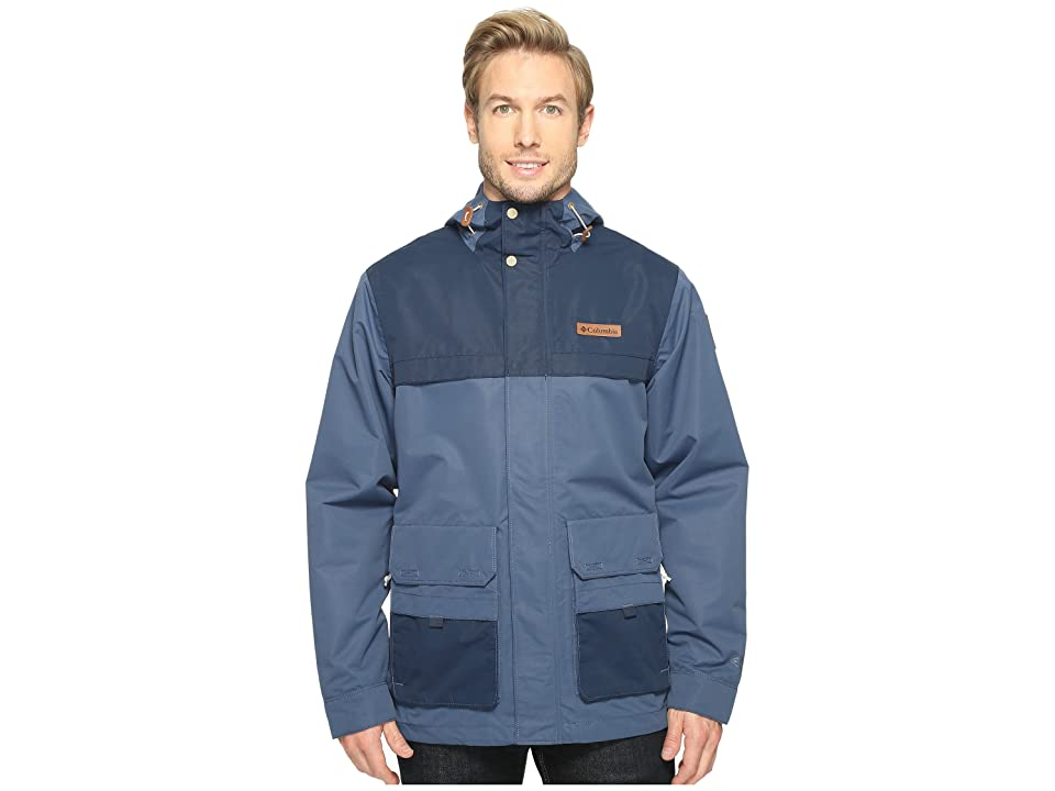 Columbia South Canyon Jacket (Zinc/Collegiate Navy) Men