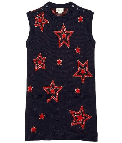 Gucci Kids Wool Jacquard Knit Dress (Little Kids/Big Kids)