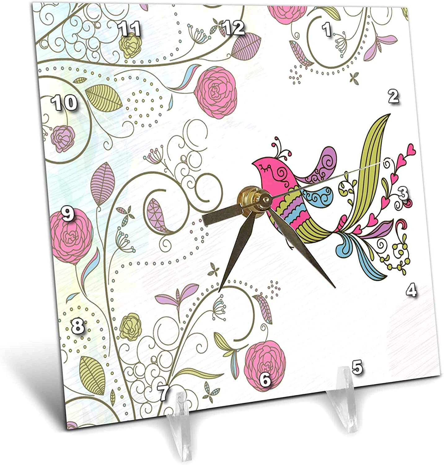 3dRose Anne Marie Baugh - Birds Flowers Flo Ranking TOP3 Cute with and Bird Al sold out.