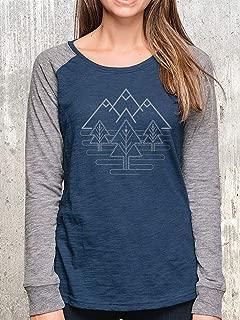 Women's T-Shirt - Tri-Peak Landscape - Women's Scree Printed T-Shirt