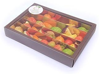 Martorana, fruit van amandelspijs. Siciliaanse marsepein in schitterende cadeauverpakking (380gr). RAREZZE: typisch Sicili...