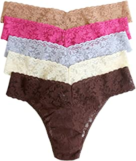 0278e8d70faa Hanky Panky Women's Low Rise Thong 5 Pack