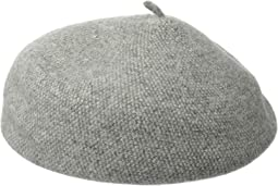 Tweed Boiled Wool Beret