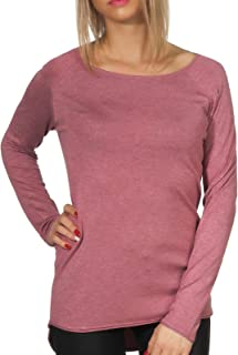 Only womens ONLMILA LACY L/S LONG KNIT Pullover