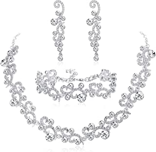 Best bridal necklace earring sets Reviews