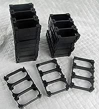 DIY Battery Pack Boston Power Lithium Cell Battery 3P Triple Cell Holder Bracket (20 pcs) Holds 30 Batteries 18650