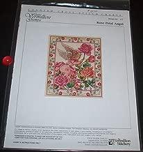 Rose Petal Angel (Design No. 127) - Counted Cross Stitch