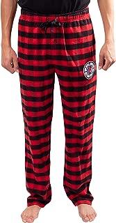 NBA Men's Sleepwear Super Soft Flannel Pajama Loungewear Pants